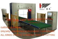 dual fastwire contour foam cutting machine