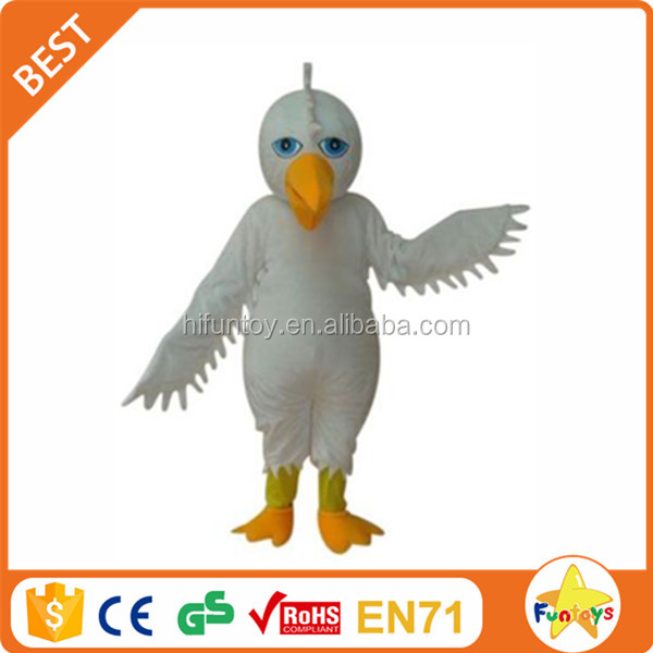 Funtoys CE Giant White Eagle Hawk Mascot Costume Adult