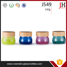 Cosmetics Cream Empty Jar 100ml, Glass Cosmetic Containers And Jars