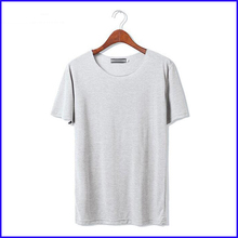 2016 new style 100 cotton export quality men fashion plain no brand t-shirt