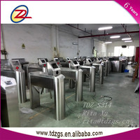 Half height security entrance factroy control tripod turnstile gates