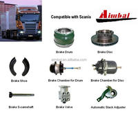 compatible with Scania TRUCK BRAKE PARTS