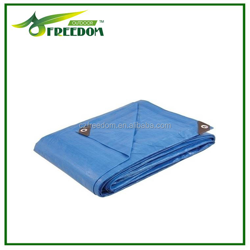 Blue/orange pe tarpaulin sheet