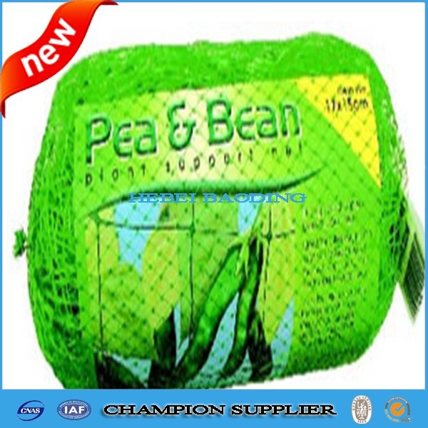 2m x 10m Trellinet, pea and bean netting, mesh size = 20cm