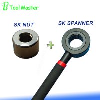 Non-wind types of SK collet chuck spanner Wrench