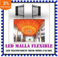 2016 innovative hot new chinese products flexible led panel mesh display screen