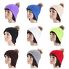 wholesale colorful custom 100% acrylic winter/knitted/bonnet hat /pom pom beanie hat
