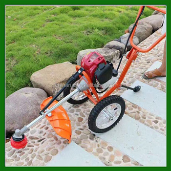 4 stroke 35.8cc hand push brushcutter/grass trimmer