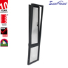 Aluminium Frame Double Glass Turn And
