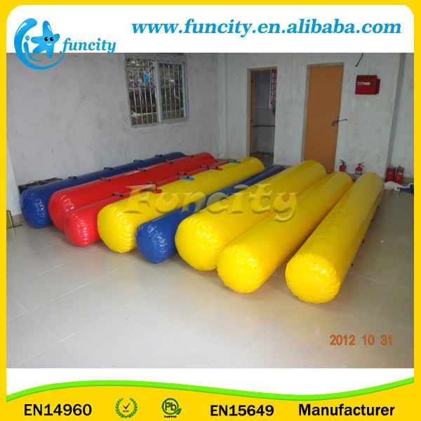 0.9mm PVC inflatable floating tube for sales, inflatable water toys for children