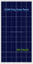 China Top 10 Manufacture High Quality 310W Poly Solar Panel with 72 cells series