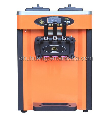 Most popular snack machine,soft ice cream machine with low price for sale
