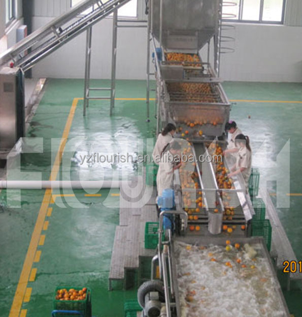 Hot sale industrial orange juice production line price