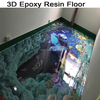 3D Epoxy Resin Floor