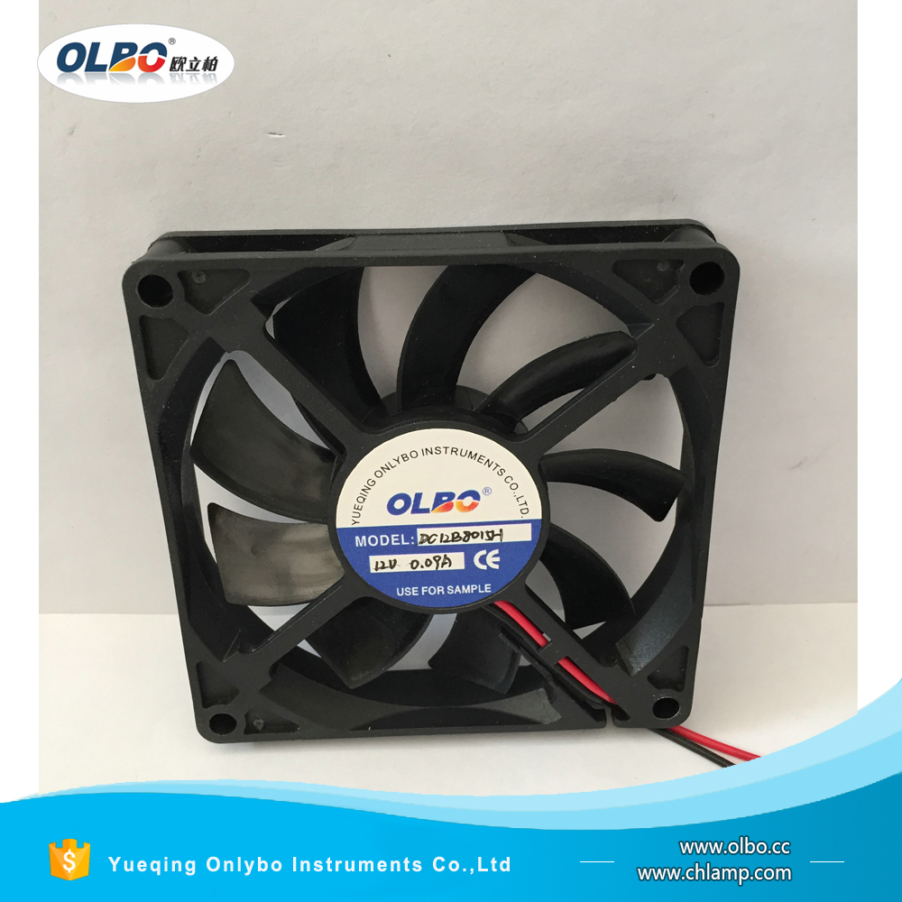 OLBO Standard Maglev 8015 80mm 80x80 Mini Laptop DC Axial Flow 12Volt Low Price Cooling Fan 80x80x15 mm
