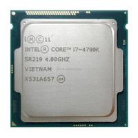 Original For lntel CPU i7 4790K Quad Core 4.0GHz LGA 1150 TDP 88W 8MB Desktop CPU authentic processor