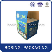 Ice bucket packaging box