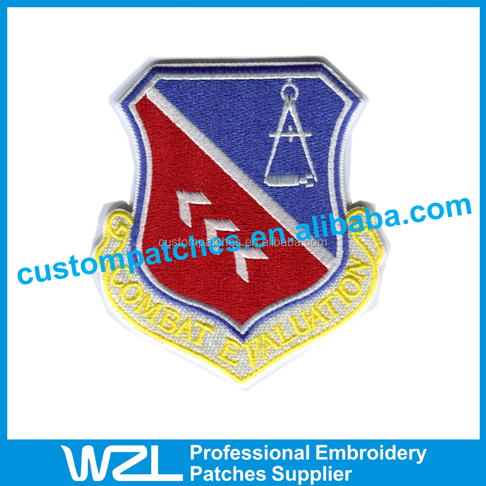 Special Pattern Embroidered Emblem Badges for Jackets