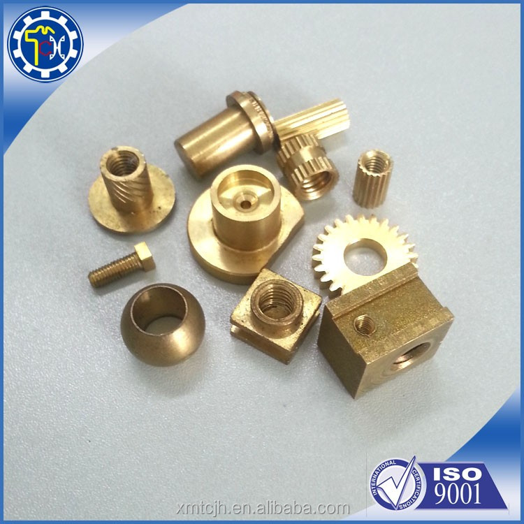 Special made hot sale brass bolt scerws nut CNC machining part for auto