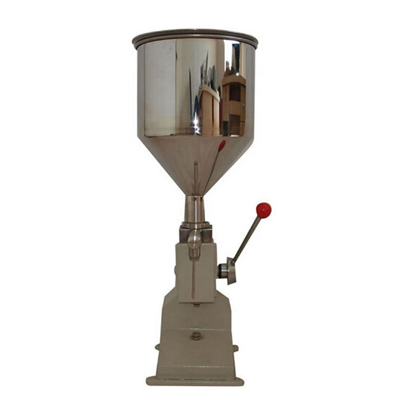 Hand operated manual cosmetic paste sausage liquid filling machine <strong>A03</strong>