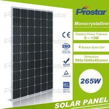 Cheapest Price rec solar modules 265 Watt 265w Mono Solar Module Wholesale