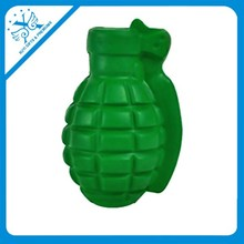 Soft antistress grenades ball pu hand grenade stress toy pu foam sponge toys best selling toys 2014