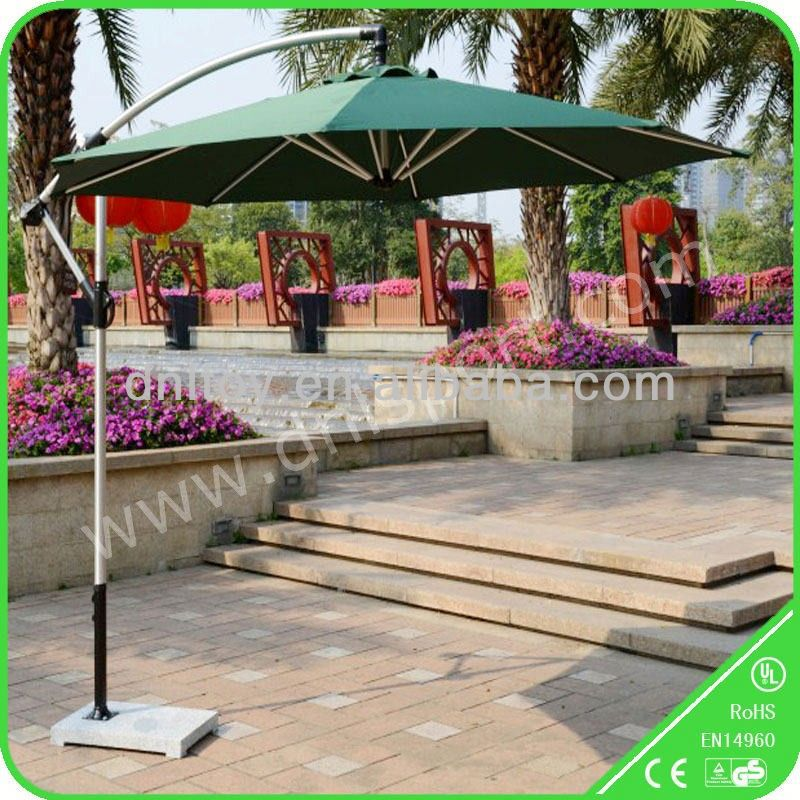 2017 Beautiful color side stand patio umbrella