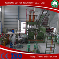 Automatic waste cotton baler machine