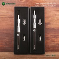 GS 5 pin pts01ego passthrough vapor pen micro 5pin passthrough battery with CE/ROHS/FCC