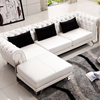 Luxury Living Room Leather Chesterfield Sofa