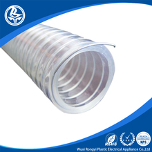 120 Degree high temperature resist flexible pvc suction hose pipe