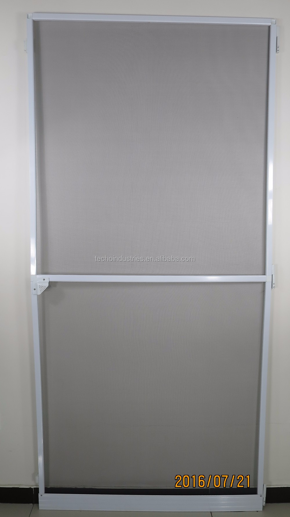 Double Hinged Screen Door Suitable For French Door View