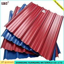 0.125-1.5mm high quality corrugated galvanized steel sheet, roof wall panels