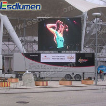 Eastar hot sale P16mm outdoor full color advertising Mobile Truck tri-color led screen boards