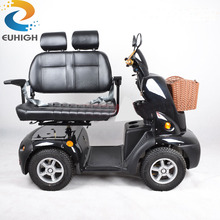 Handicapped Double Seat Electric Mobility Motor Scooter for adults