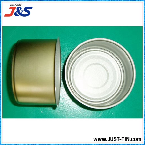 2016 high quality empty food grade metal tin box can for packaging