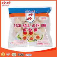 Frozen Pollock Fish Ball With Roe