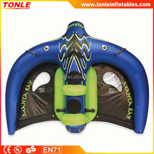 customized cheap inflatable flying manta ray for sale