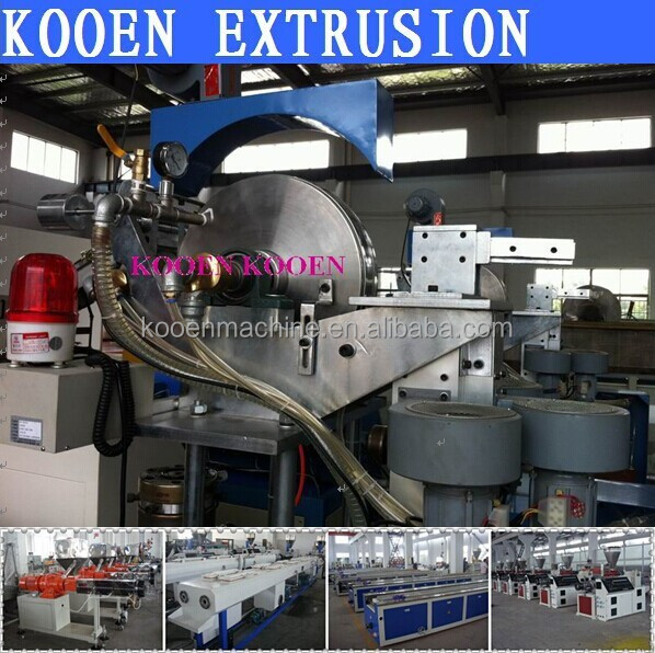 hot selling DGD series labyrinth drip irrigation tape belt pipe hose production machine line extruder extrusion system