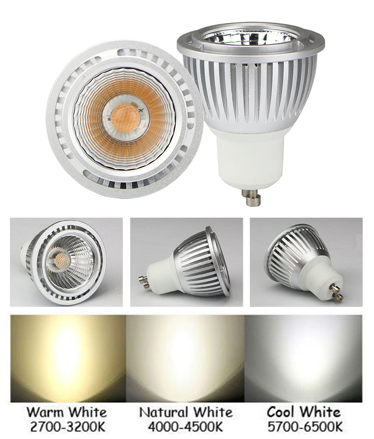 INNOVILIGHT Wholesale 13 degree 5W dimmable cob gu10 led spotlight
