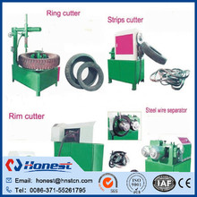 tire block cutter/tire cutter/tyre recycling plant
