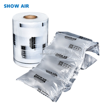Showair white transparent double layer PE plastic logistic inflatable air buffer pillow void filling bag packaging cushion film