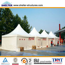Beijing Olympics Motorcycle Storage Tent 5X5m,15X30m,30X100m Made of Aluminum Alloy & PVC Coated Cover Used for Over 20 Years