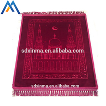 Top quality memory foam muslim padded prayer mats/Islamic foam mats