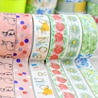Decorative japanese custom washi paper tape cheapest price free sample