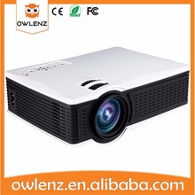 USA OWLENZ SD60 hd mini led projector 1500 Lumen home theater projector wifi Airplay for Iphone