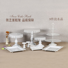 Wedding dessert table furnishing articles european-style three-layer snack cakes multilayer fruit dessert pastry display tray