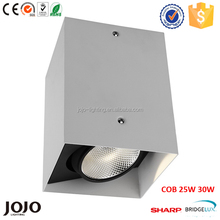 COB 20W 25W 30W aluminum die casting square led surface mounted downlight