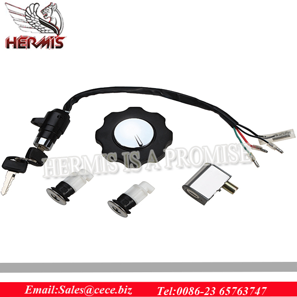 antirust motorcycle Lock Set,ignition switch how works,steering column lock for Honda CD100
