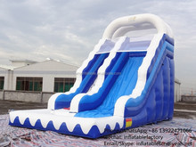 PK Fun inflatable wave water slide for people